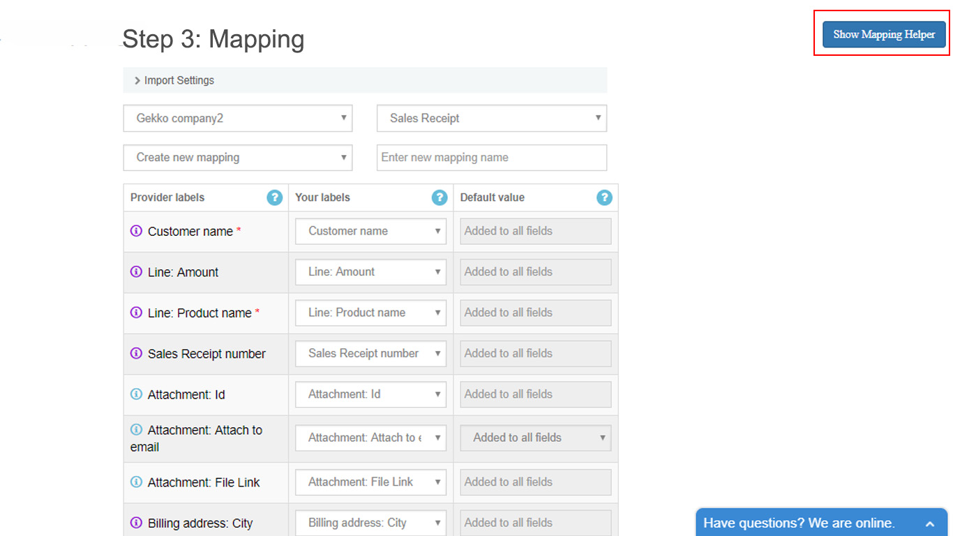 mapping: import Paypal Excel into QuickBooks Online - CloudBusiness LLC