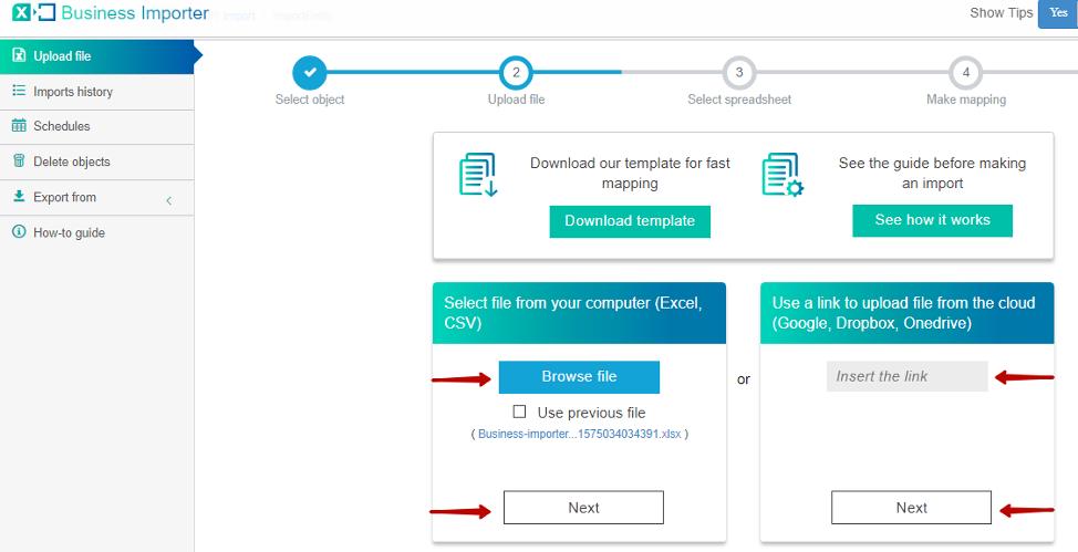import Invoices into QuickBooks Online