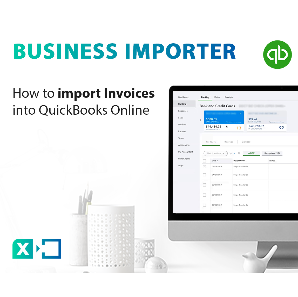 Import Invoices into QuickBooks