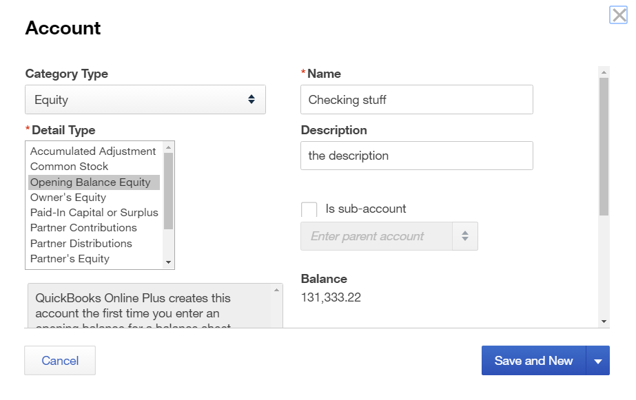 Import accounts with Open Balance into QuickBooks Online