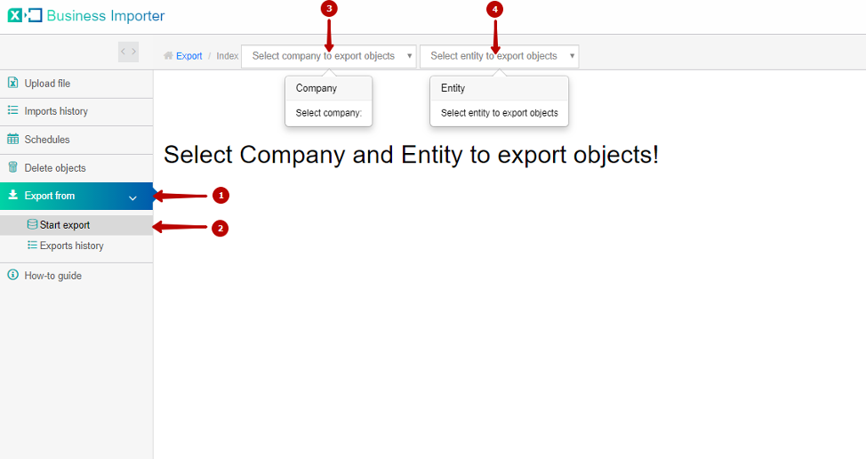 Export List from QuickBooks Online