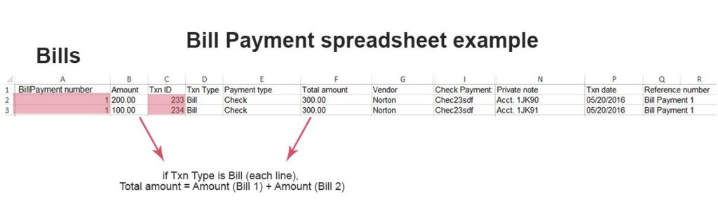 import Bill Payments into QuickBooks Online