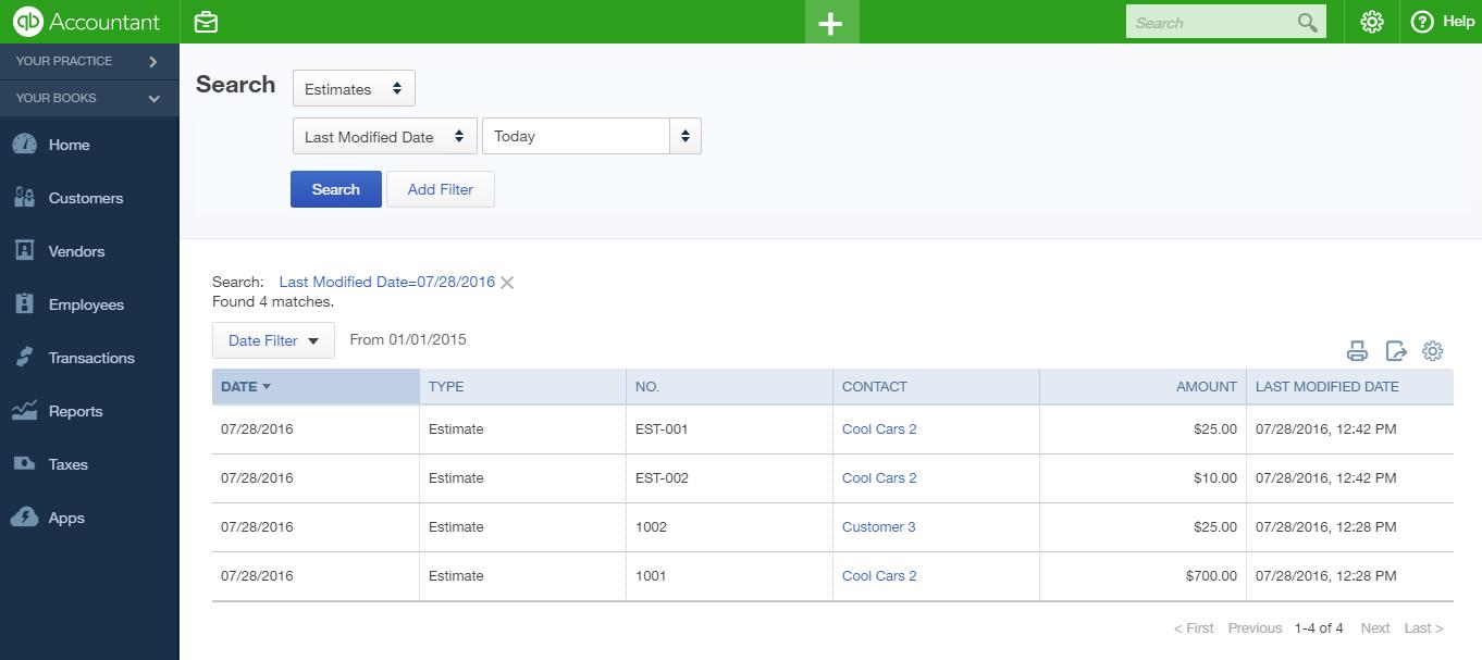 How to import Estimates into QuickBooks Online, using Business ...