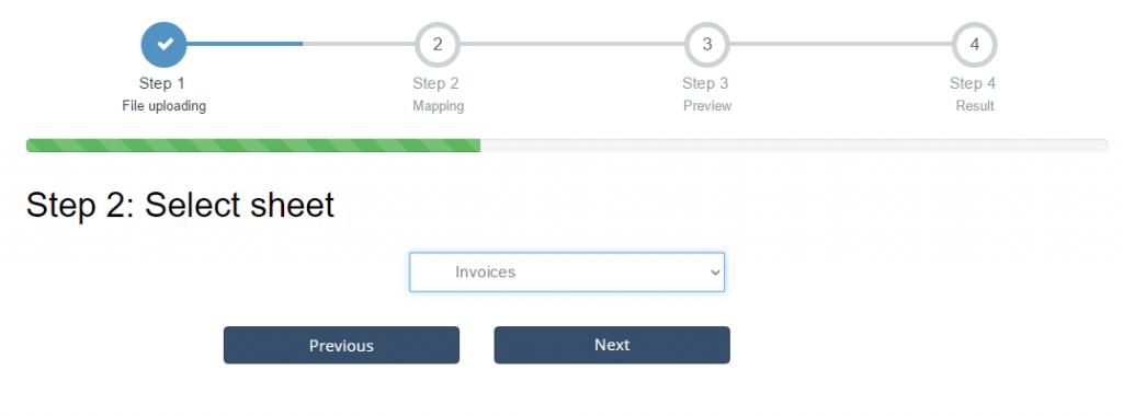 import invoices into Xero