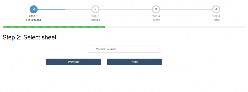 import Manual Journals into Xero
