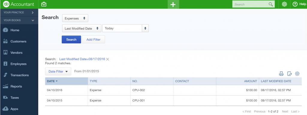 import Cash Expenses into QuickBooks Online