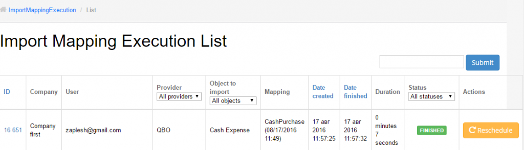 import Cash Expenses into QuickBooks Online