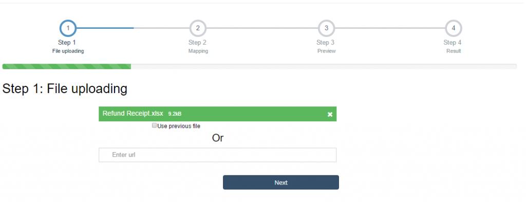 import Refund Receipts into QuickBooks Online