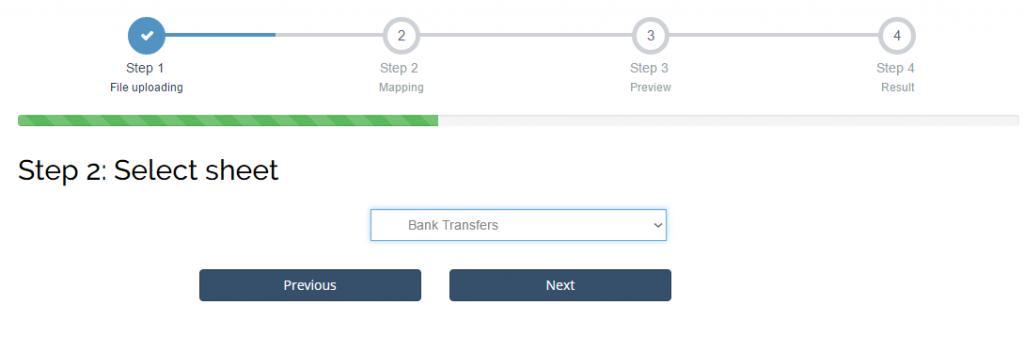 import Bank Transfers into Xero