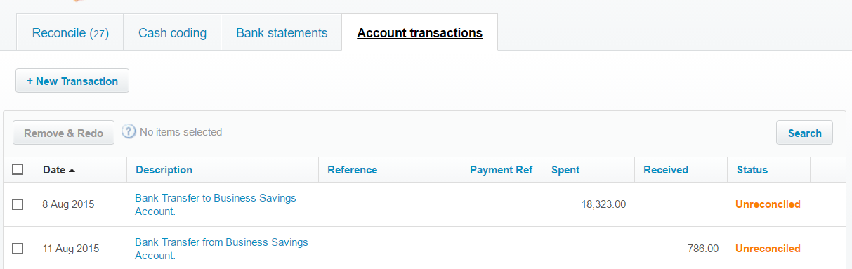 How to import Bank Transfers into Xero, using Business Importer