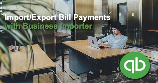 Export Bill Payments in QuickBooks Online