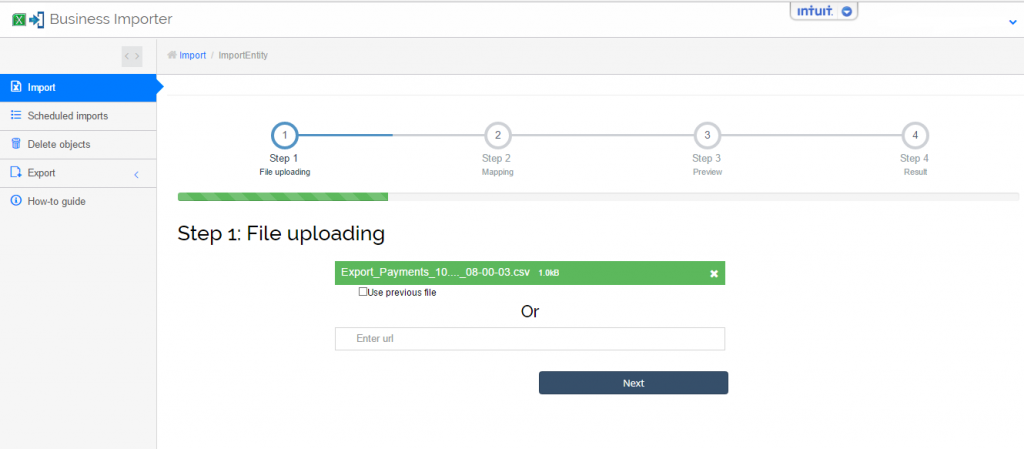export payments in quickbooks online_ import payments to migrate