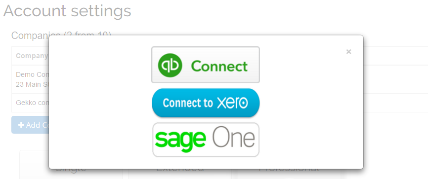 Import Invoices into Sage One
