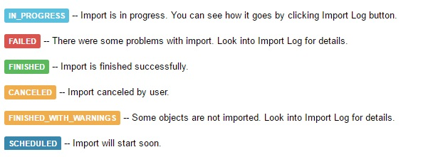 import data into Sage One