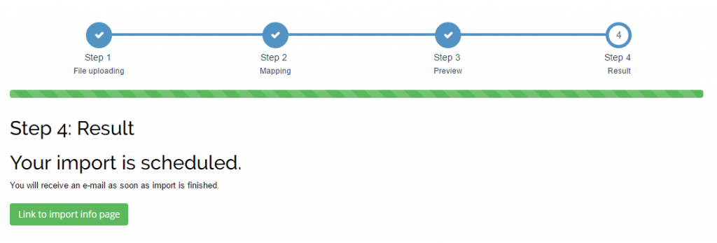 import Payments into Xero
