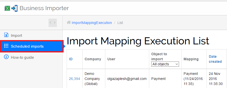 cancel import of transactions in QuickBooks Online