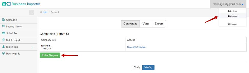 Excel Importer into QuickBooks