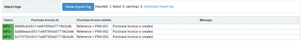 Import Purchase Invoices into Sage One