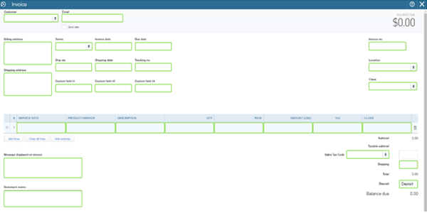 Import Data to QuickBooks Online: Mapping Helper