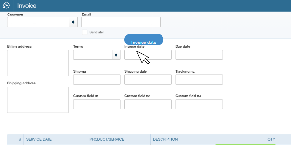 Import Data to QuickBooks Online: Mapping Helper tag name