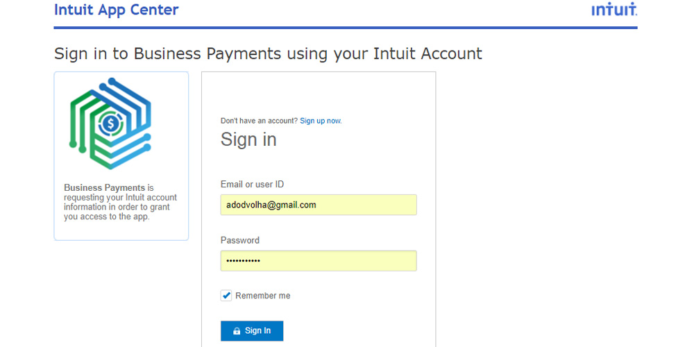 QuickBooks Stripe Integration