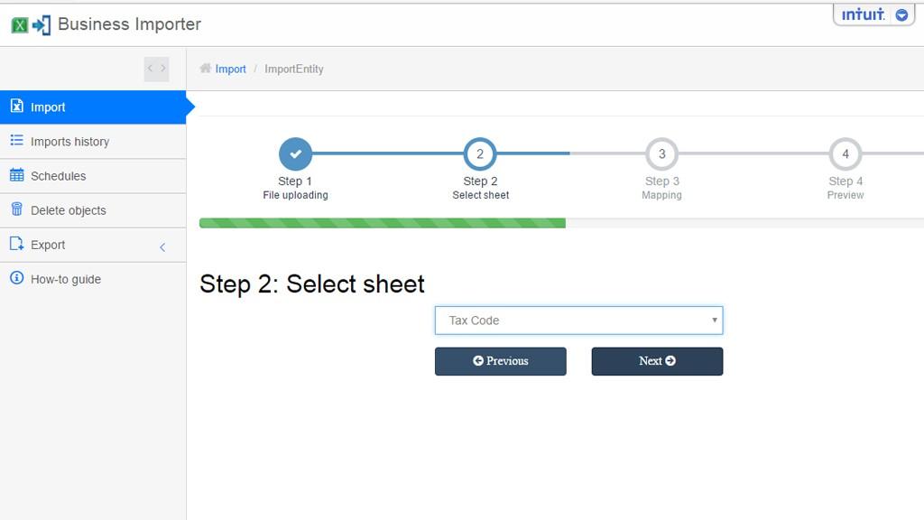 2 - select sheet