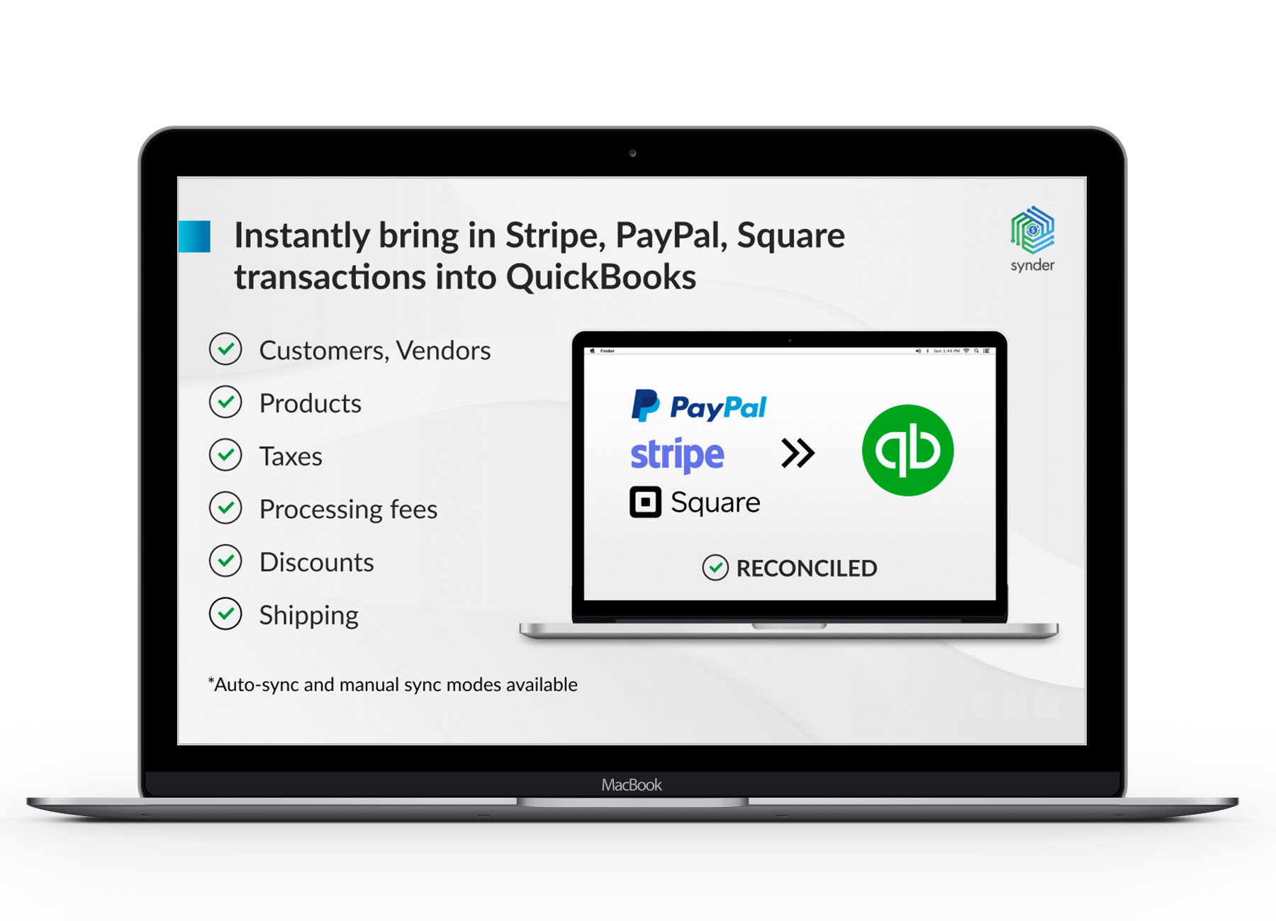 Stripe Integration with QuickBooks Online