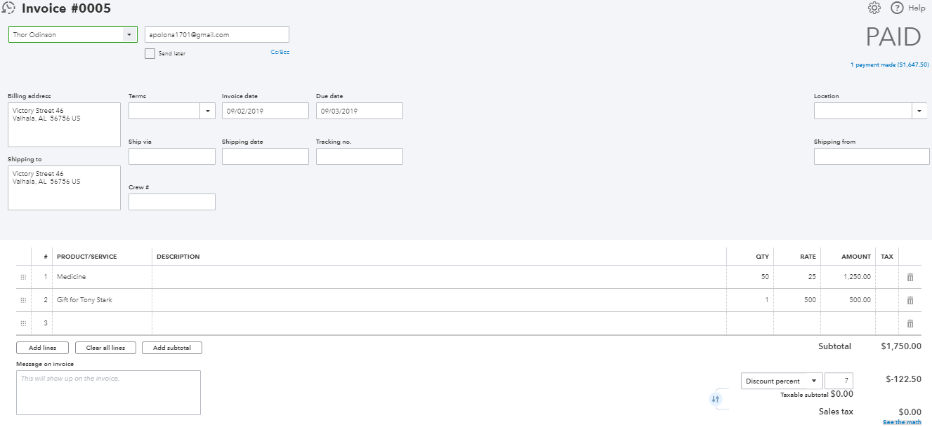 Sync Stripe with QuickBooks