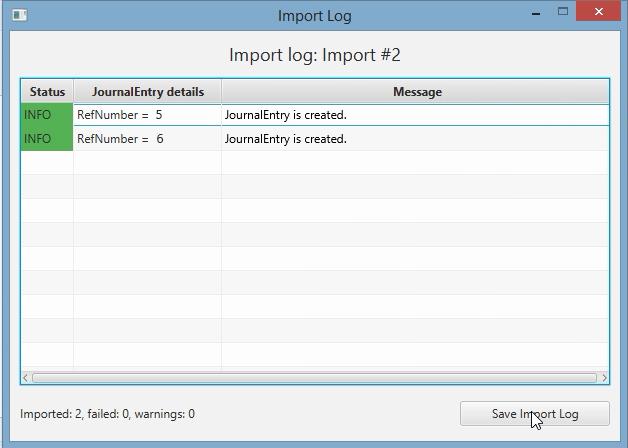 import log 2