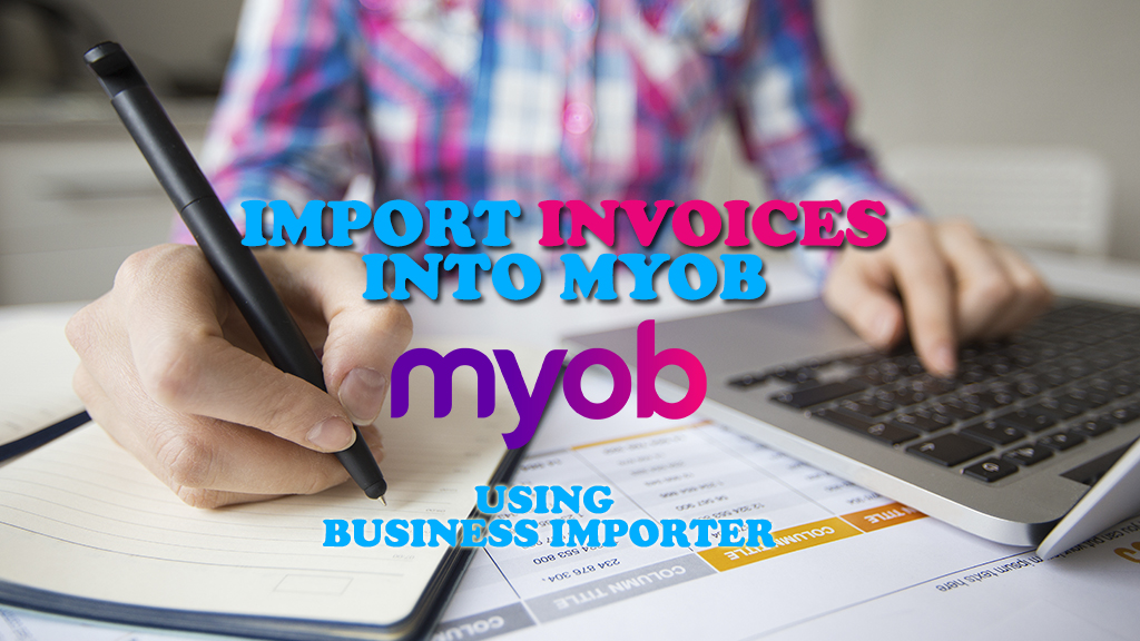 import invoices into myob