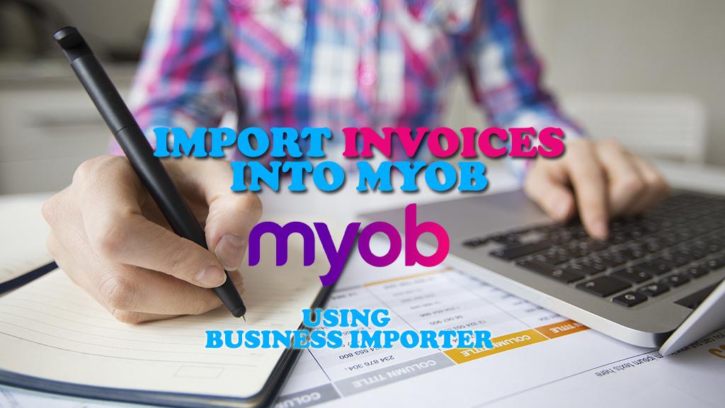 import invoices into myob