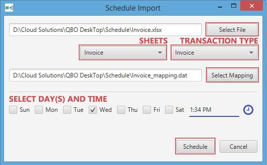 schedule import2