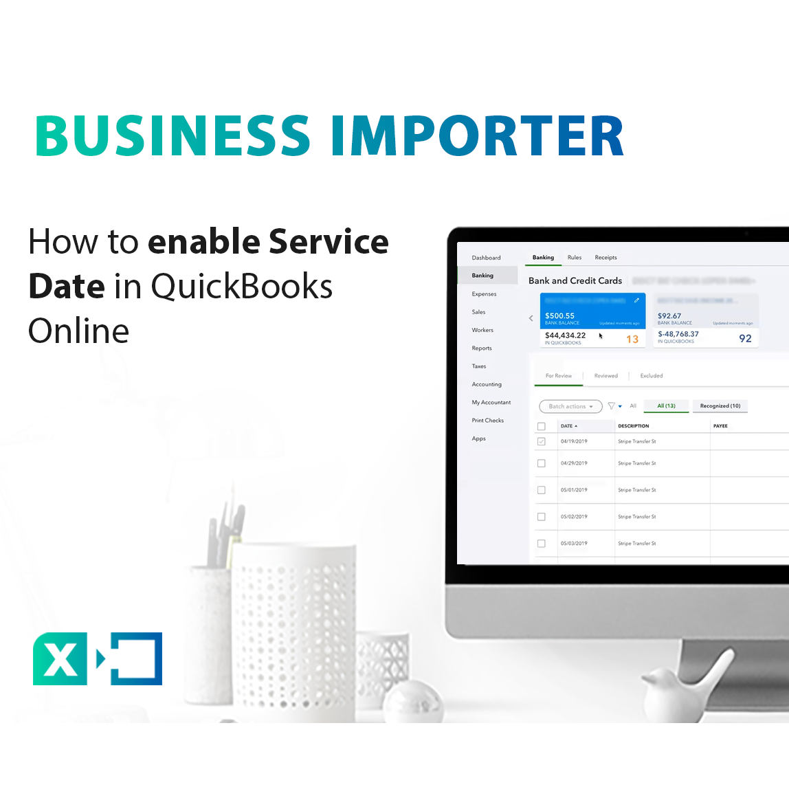 How to enable Service Date in QuickBooks Online