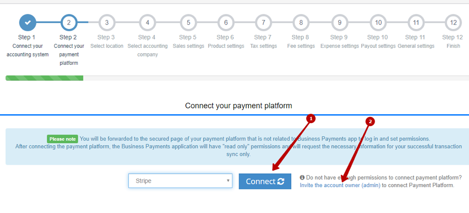 How to connect Payment System with QuickBooks Online