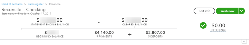 reconcile stripe transactions in quickbooks - zero balance
