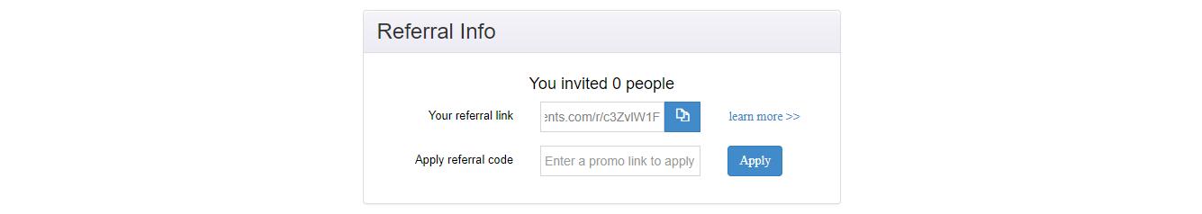 referral link