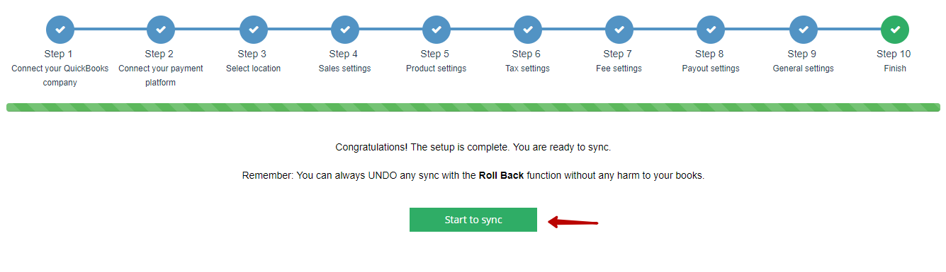 Starting Synchronization in Synder