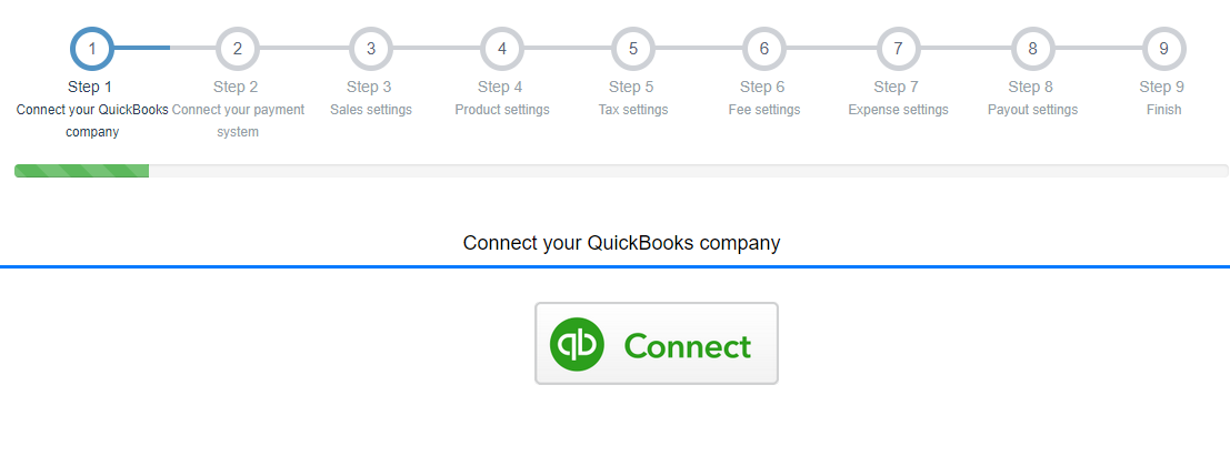 Connect Square to QuickBooks Online