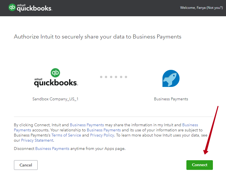 Connect Quickbooks and Synder