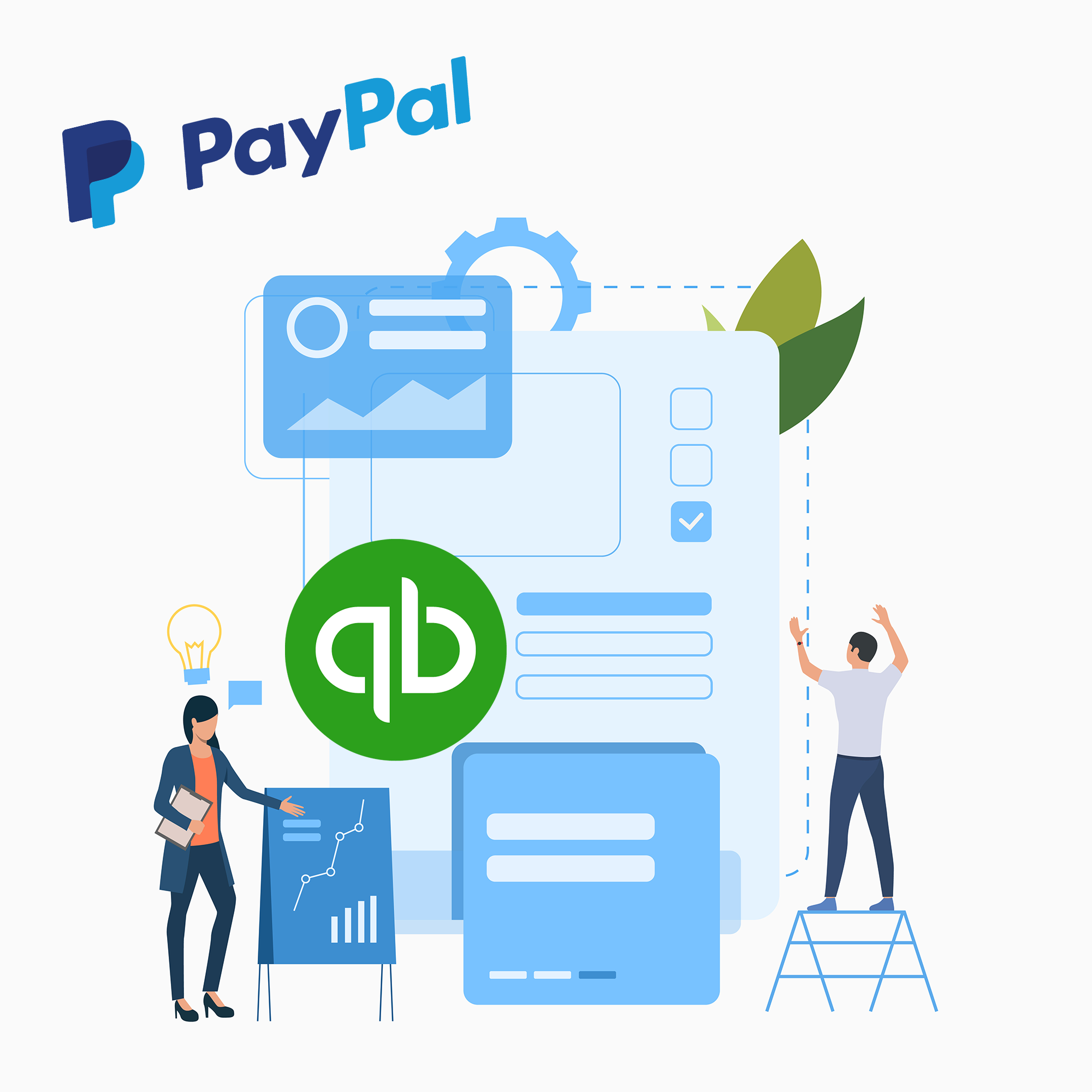How to Integrate PayPal with QuickBooks Online