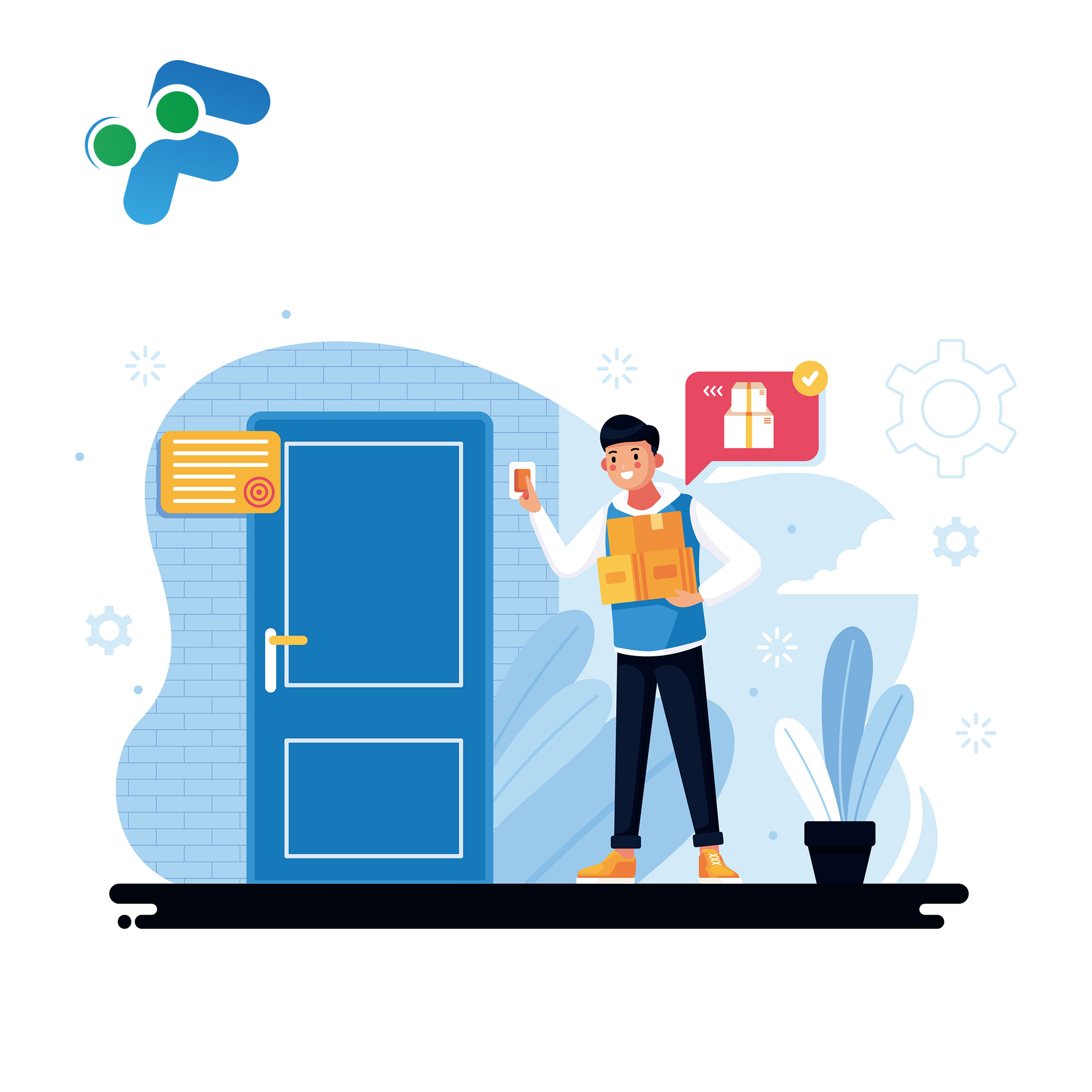 Product Delivery Request based on QuickBooks Online