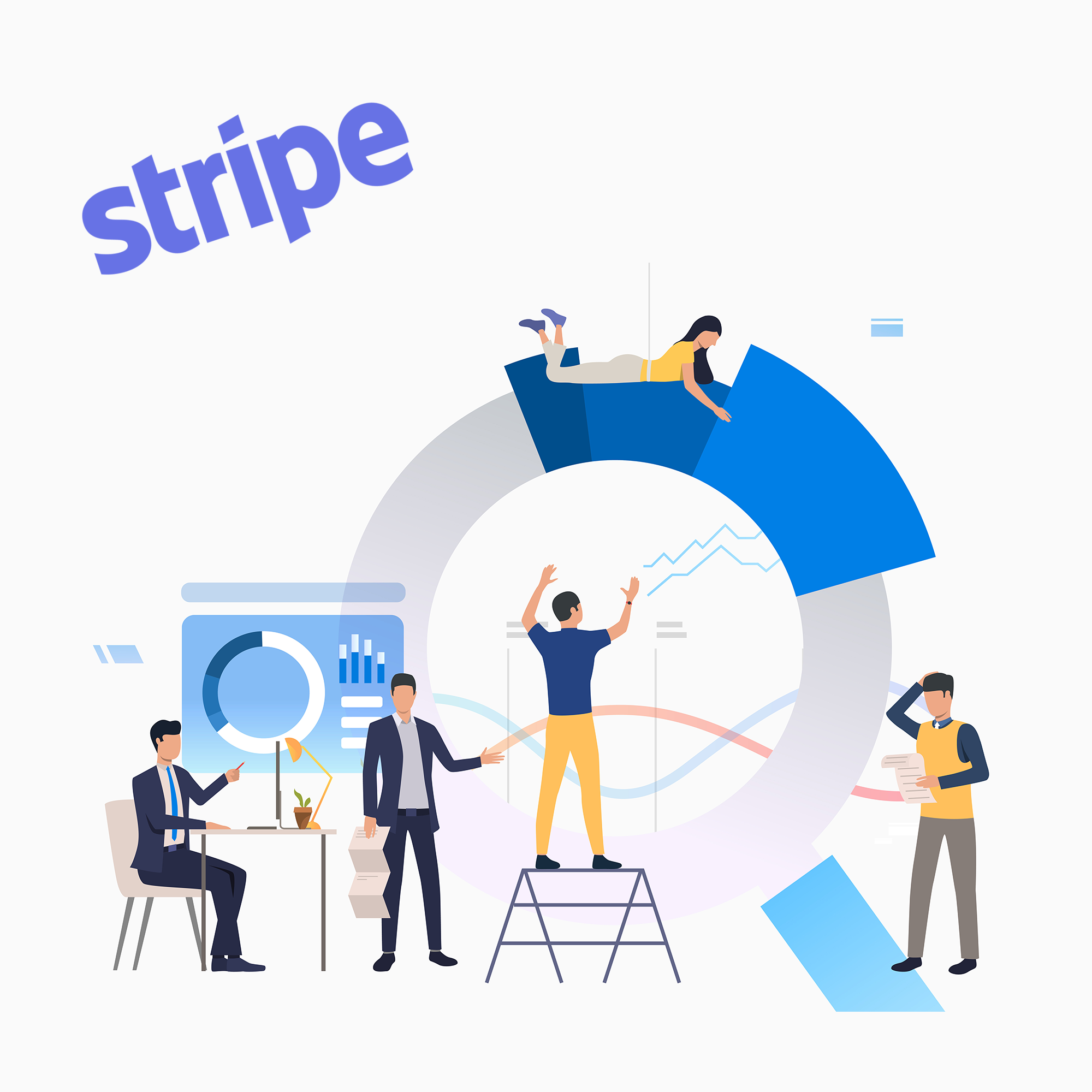 how to record stripe fees
