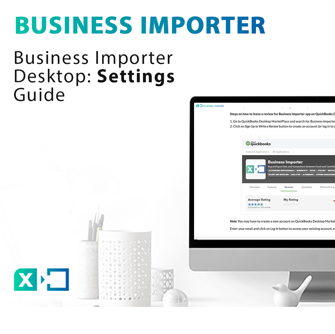 Business Importer Desktop: Settings Guide